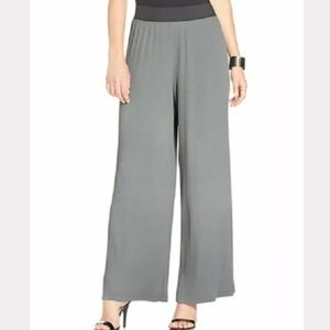 ALFANI Pleated Urban Olive Palazzo Pants Size: M